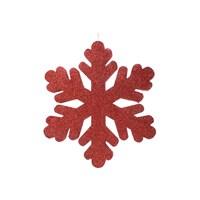KullanAtMarket Kırmızı Kar Tanesi 27 Cm