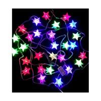 KullanAtMarket Yılbaşı Yıldız Led Renkli Işık