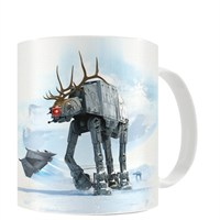 Sd Toys Star Wars: At-At Reindeer Christmas Mug Kupa Bardak