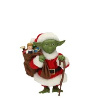 Sd Toys Star Wars: Yoda Santa Clause Figure