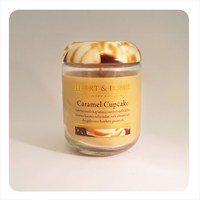 H&H Küçük Mum Caramel Cupcake