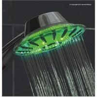 Dıamond Yeni Relax Led Işıklı Mafsallı Duş Sistemi
