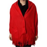 Hardymix Polar Cepli Şal-Kırmızı