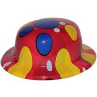 Pandoliyuvarlak Puanlı Plastik Şapka