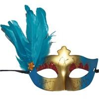 Pandolitüylü Simli Parti Maskesi