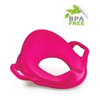 Dünya Plastik Kulplu Klozet Adaptörü Pembe