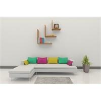 Nav Decoration Melodi Estetik Duvar Rafı Ve Kitaplık