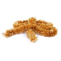 Partisepeti Altın Renk Fırfır Süs (2 Metre )