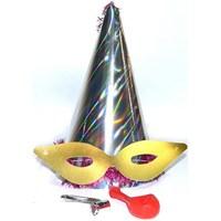 Yılbaşı Katyon Şapka / Gümüş