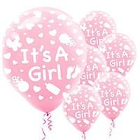 İt's A Girl Balon