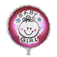 Partisepeti Baby Girl Folyo Balon
