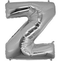 Z Harf Folyo Balon Gümüş