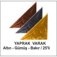 İthal Ürünler-Yaprak Varak-Gümüş-25 Li