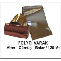 İthal Ürünler-Folyo Varak-Altın-120Mt