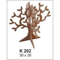 Hobi Ahşap Dekoratif - Takı Ağacı