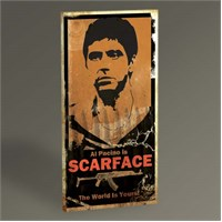 Tablo 360 Scarface Tablo 60X30