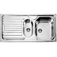 Dominox Argo Xb51 Çelik Mutfak Evyesi - Sol Damlalıklı