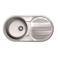 Dominox Luna L611 Dekorlu Mutfak Evyesi - Sağ Damlalıklı