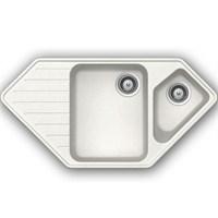 Schock Typos C150 Beyaz Köşe Mutfak Evye