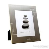 Metal Fotoğraf Çerçevesi 2'Li Set-Gold