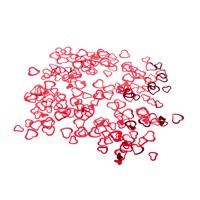 KullanAtMarket Çerçeve Kırmızı Kalp Masa Konfeti