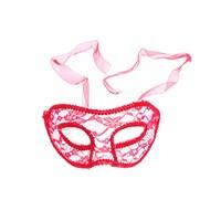Kullan At Market Kırmızı Tül Balo Maskesi