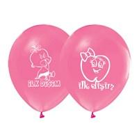 KullanAtMarket İlk Diş Pembe Balon