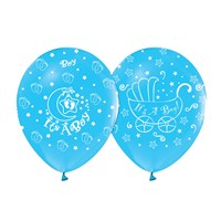 KullanAtMarket Its A Boy Mavi Balon