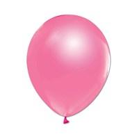KullanAtMarket Metalik Pembe Balon