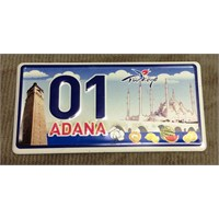 Goadana Magnet Mini Plaka Adana 3