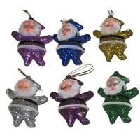 Puzmo Noel Baba Figürü 6 lı
