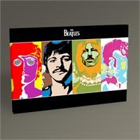 Tablo 360 The Beatles Pop Art Tablo 45X30