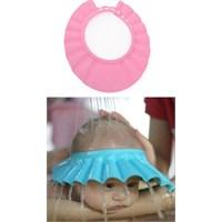 HomeCare Ayarlanabilir Bebek Banyo Şapkası Pembe 091778
