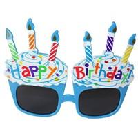 Pandoli Mavi Happy Birthday Gözlük