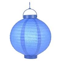 Pandoli 25 Cm Led Işıklı Kağıt Japon Feneri Lcivert Renk