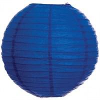 Pandoli Çin Feneri Asma Süs Koyu Mavi Renk 35 Cm