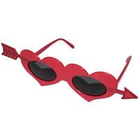 Pandoli Kırmızı Ok Kalpli Gözlük