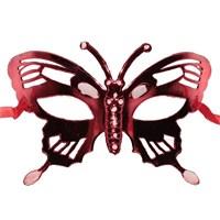 Pandoli Kırmızı Kelebek Maske