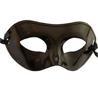 Pandoli Siyah Renk Plastik Parti Maskesi