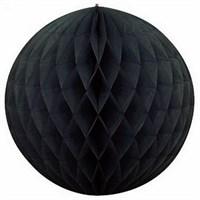Pandoli Siyah Renk Petek Dekor Asma Süs 30 Cm 1 Adet