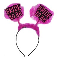 Pandoli Bride To Be Partisi Tacı Fuşya Pembe Renk Otrişli