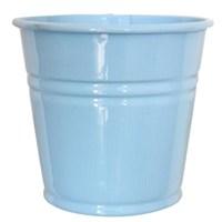 Pandoli Mavi Renk Galvaniz Kurabiye Kasesi 11 Cm Küçük Boy 1 Adet