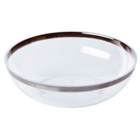 Pandoli Lüks Plastik Şeffaf Salata Kasesi Büyük Boy 27 Cm