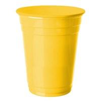 Pandoli 8 Adet Plastik Sarı Renk Meşrubat Parti Bardağı 266 Ml