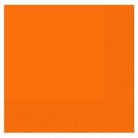 Pandoli 33 Cm Turuncu Renk Kağıt Parti Peçetesi 50 Adet