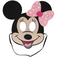 Pandoli Pembe Puantiyeli Fare Mouse Maskesi