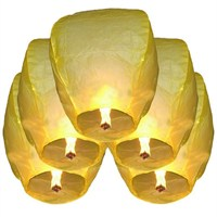 Pandoli Gökyüzüne Bırakılan Dilek Feneri Sarı Renk 1 Adet