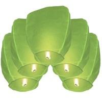 Pandoli Gökyüzüne Bırakılan Dilek Feneri Yeşil Renk 1 Adet