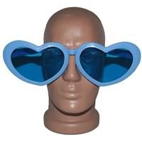 Pandoli Kalpli Parti Gözlüğü Büyük Boy Mavi Renk