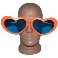 Pandoli Kalpli Parti Gözlüğü Büyük Boy Turuncu Renk